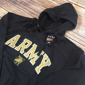 New ARMY pullover hoodie old varsity brand mens xl
